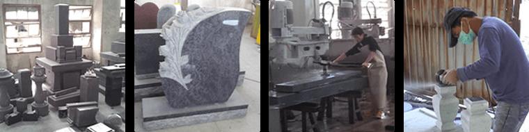 石へのこだわり・標準耐震施工