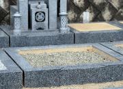 新しいお墓の決定