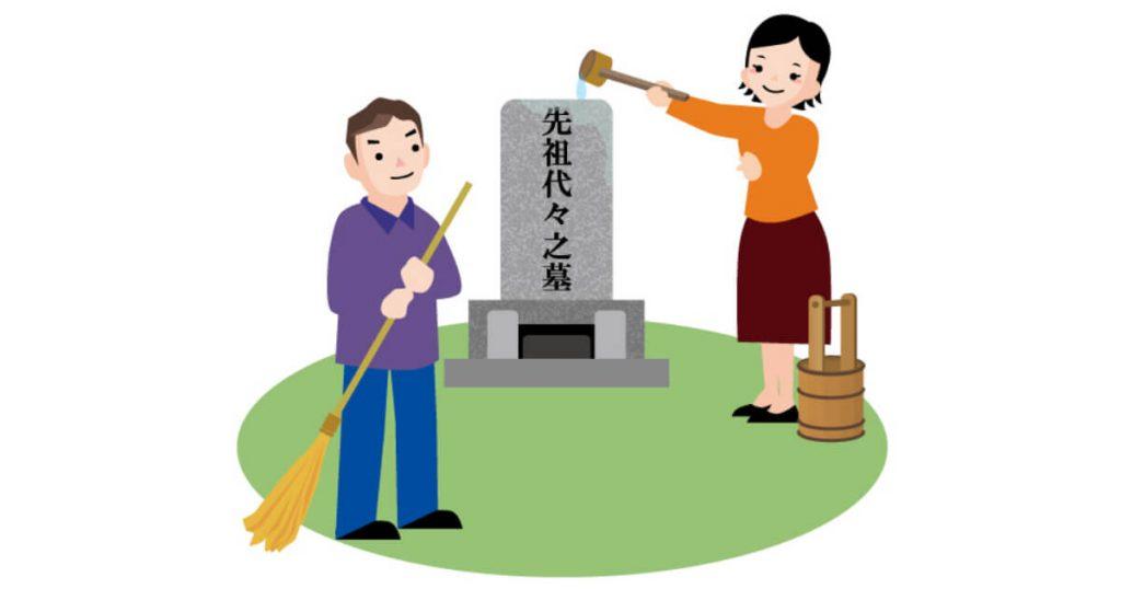 自分で墓石クリーニングをする方法